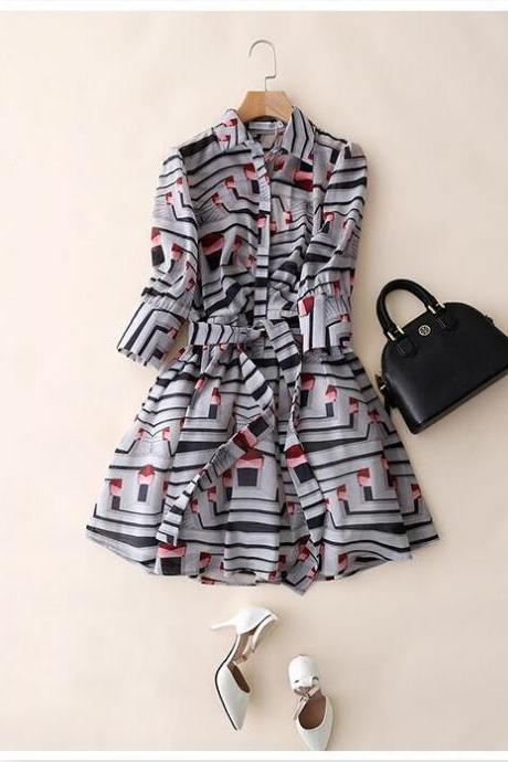 Lady Summer Chiffon Dresses Charming women dress